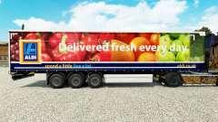 Скин Aldi Delivered Fresh на шторный полуприцеп