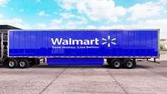 Скин Walmart на удлинённый полуприцеп