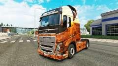 Скин Free spirit на тягач Volvo
