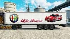 Скин Alfa Romeo Sport на полуприцепы