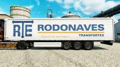 Скин RTE Rodonaves Transportes на полуприцепы для Euro Truck Simulator 2