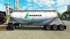 Скин Lafarge на цементный полуприцеп