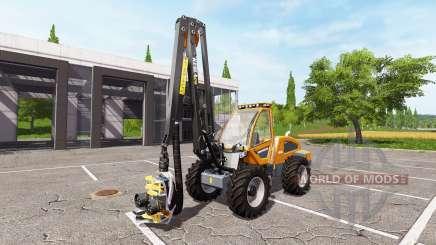 Sampo Rosenlew HR46X full cranecontrols v1.1 для Farming Simulator 2017