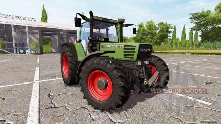 Fendt Favorit 512C Turbomatic для Farming Simulator 2017