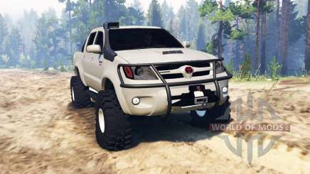Toyota Hilux 2013 для Spin Tires