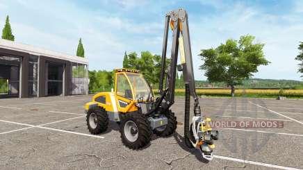 Sampo Rosenlew HR46X full cranecontrols для Farming Simulator 2017