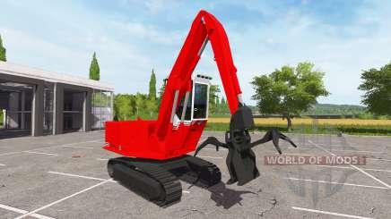 Стреловой погрузчик брёвен для Farming Simulator 2017