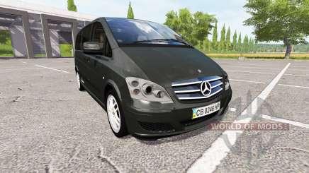 Mercedes-Benz Viano v0.8 для Farming Simulator 2017