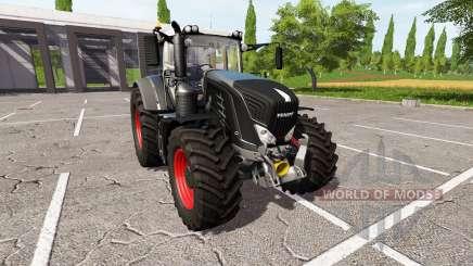 Fendt 948 Vario black edition v1.4 для Farming Simulator 2017