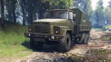КрАЗ-260 v3.0 для Spin Tires