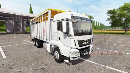 MAN TGS 18.440 animal для Farming Simulator 2017