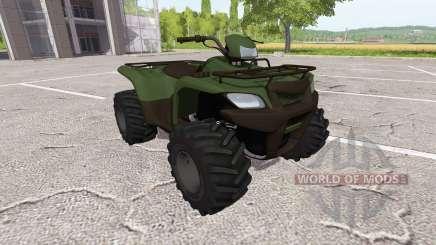 Квадрицикл для Farming Simulator 2017