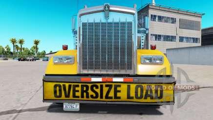 Бампер Oversize Load для Kenworth W900 для American Truck Simulator
