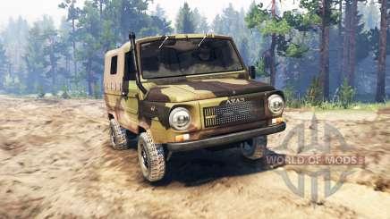 ЛуАЗ-969М Волынь для Spin Tires