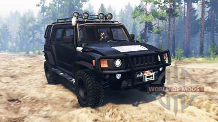 Hummer H3 для Spin Tires