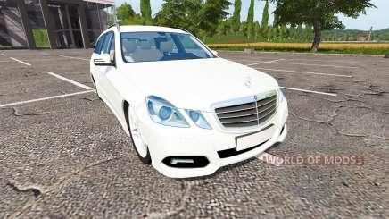 Mercedes-Benz E350 Estate (S212) для Farming Simulator 2017