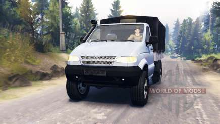 УАЗ-23602 для Spin Tires