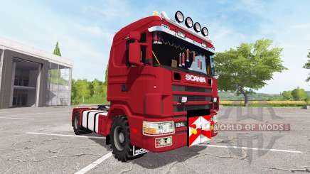 Scania 124L 440 agrar для Farming Simulator 2017