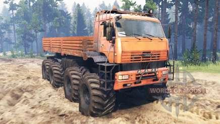 КамАЗ-6560 8x8 Север для Spin Tires