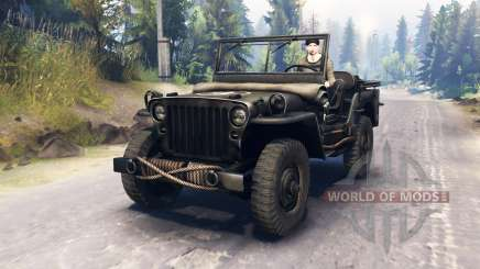 Jeep Willys MB 1942 для Spin Tires