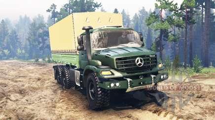 Mercedes-Benz Zetros 2733 A для Spin Tires