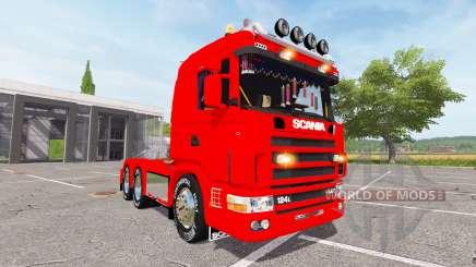 Scania 124L 440 agrar 6x4 для Farming Simulator 2017