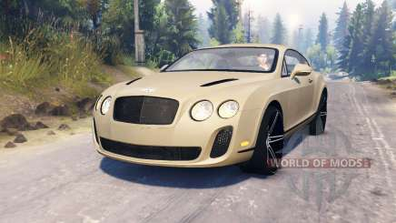 Bentley Continental Supersports для Spin Tires
