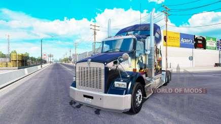Kenworth T800 2016 для American Truck Simulator