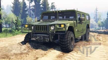 Hummer H1 v2.0 для Spin Tires