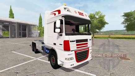 DAF XF container truck для Farming Simulator 2017