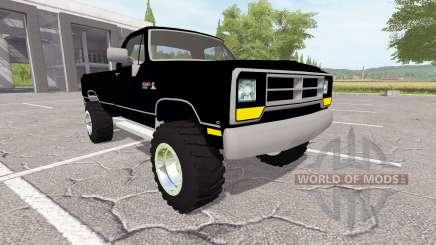 Dodge Power Ram (W150) для Farming Simulator 2017