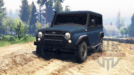 УАЗ-3159 Барс v2.0 для Spin Tires