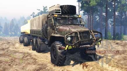 Урал-375 для Spin Tires