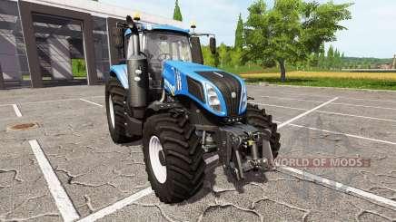 New Holland T8.320 для Farming Simulator 2017