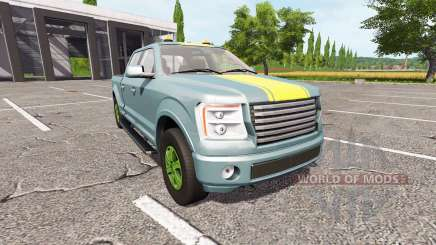 Lizard Pickup TT v1.1 для Farming Simulator 2017