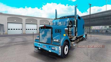 Kenworth W900B Long v1.3 для American Truck Simulator