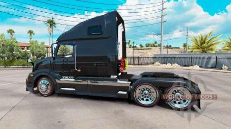 Volvo VNL 670 black для American Truck Simulator