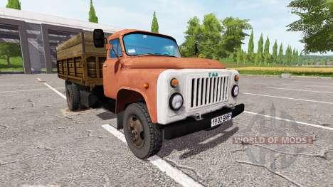 ГАЗ-53 для Farming Simulator 2017