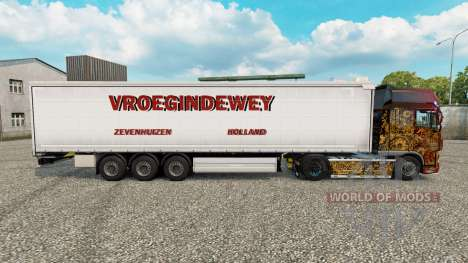 Скин Vroegindewey шторный полуприцеп для Euro Truck Simulator 2