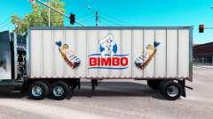 Скин Bimbo на цельнометаллический полуприцеп