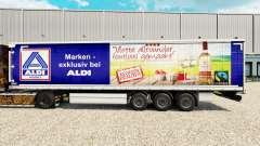 Скин Aldi Markt v2 на шторный полуприцеп