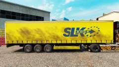 Скин SLK Kock GmbH на шторный полуприцеп