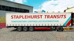 Скин Staplehurst Transits на шторный полуприцеп