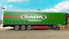Скин SADA Transportes на шторный полуприцеп