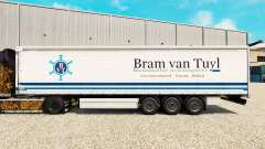 Скин Bram van Tuyl на шторный полуприцеп