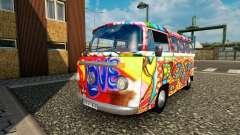 Volkswagen Transporter T2 Hippie для трафика