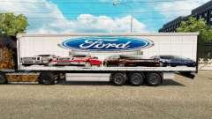 Скин Ford v2.0 на шторный полуприцеп