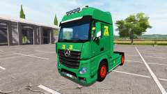 Mercedes-Benz Actros MP4 update