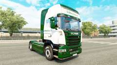 Скин Binotto на тягач Scania