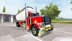 Peterbilt 388 water tanker